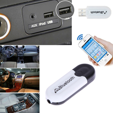 Bluetooth USB A2DP Adapter Dongle Blutooth Music Audio Receiver Wireless Stereo 3.5mm Jack for Car AUX Smartphone(China)