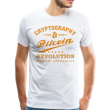 Buy Stylish Vintage Design Bitcoin T-shirt Men's Discount Sale Summer Printing Tee Shirt Big Tall Guys T Shirt Dropshipping for $8.10 in AliExpress store