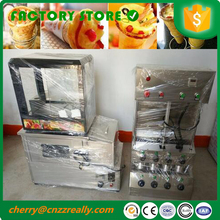 1000 pieces one hour 304 stainless steel pizza cone making machine pizza cone oven display machine and pizza oven