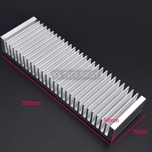 Heat sink 200*70*30MM (silver) high-quality ultra-thick aluminum radiator