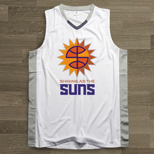 SYNSLOVEN design Men Basketball Jersey top Uniforms phoenix no.13 steve nash Sports clothing mesh Breathable plus size customize(China)