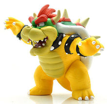 1Pc Action Figure Bowser Koopa King from Super Mario Bros Kids Action Figure Toys Robot