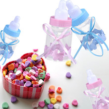 12 Fillable Bottles For Baby Shower Favors Party Decor Favors Candy Box  Bottle(China)