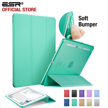 Case for iPad mini 4, ESR PU Leather Translucent Back Cover Hybrid [Soft Corner][Ultra Slim] Color Smart Cover for iPad mini 4