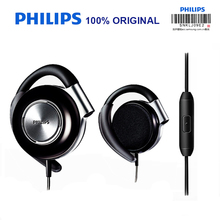Philips SHS4705 Ear Hanging Type Music Headsets with Wire Control Sports Headphones for Music and Phone Official Verification(China)