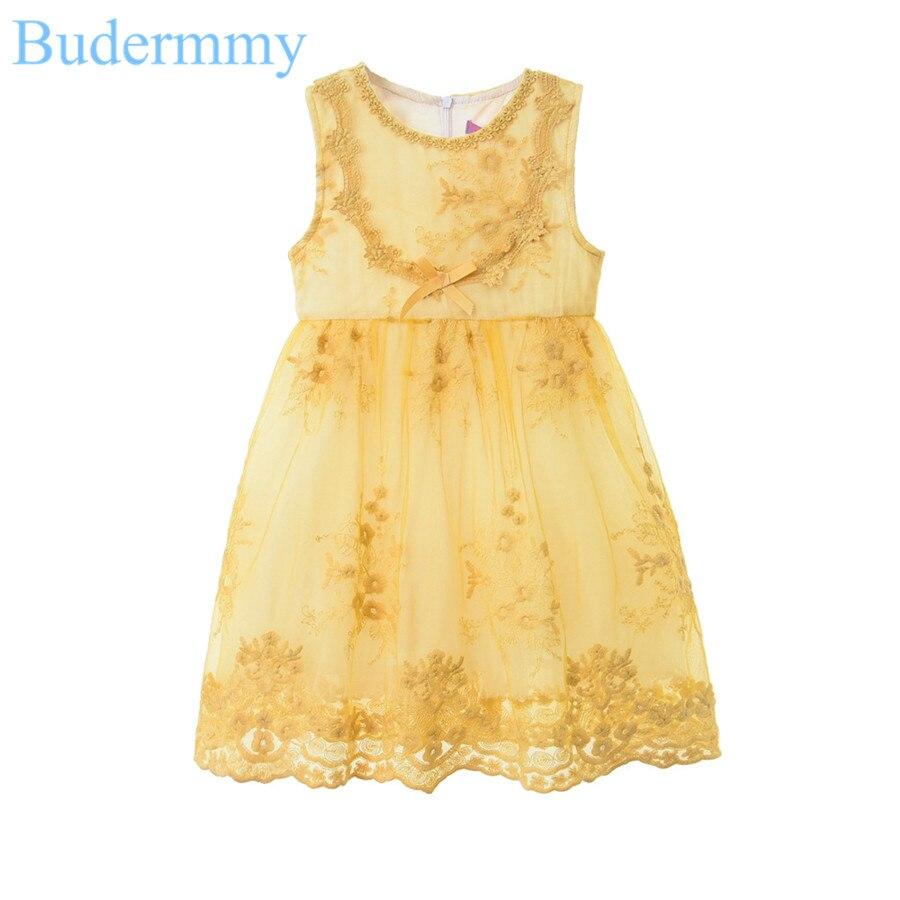 White Dress for Girls Wedding Birthday Party Flower Dress New Brand Summer Dresses Girl Clothes 5 6 7 8 9 10 Years Kids Dress <br>