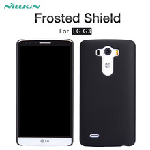 For LG G3 case NILLKIN Frosted Shield matte hard back cover case For LG G3 D855 D850 D851 D852 LS990 vs985 5.5 inch phone cases(China)