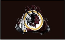 Washington Redskins American football team's top NFL stars and stripes flag 3X5FT gloves of high quality polyester banner 100D