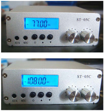 ST-05C 0.1W 0.5W home FM transmitter stereo pll radio broadcast RCA input(China)