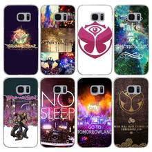 H328 Tomorrowland Music Festival Transparent Hard PC Case Cover For Samsung Galaxy S 3 4 5 6 7 8 Mini Edge Plus Note 3 4 5