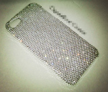 Swarovski Crystal Clear Bling Back Phone Case for samsung s8 plus for iphone 7 plus