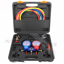 R134A R404A R22 R410A Refrigerant Pressure Gauge used for all car A/C commercial and domestic A/C and refrigeration systems