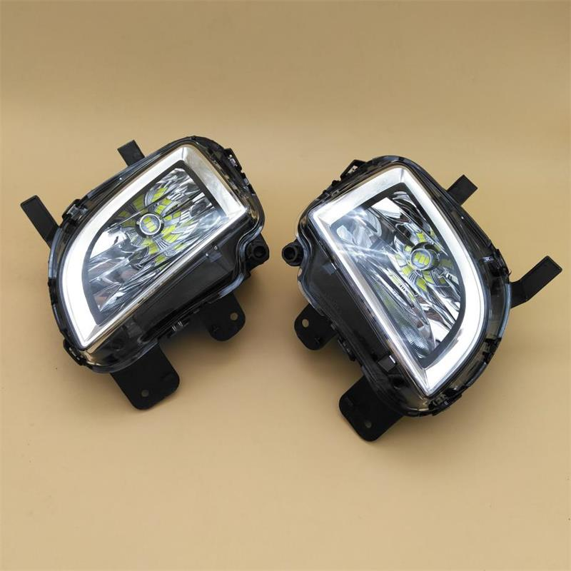 Car LED Light For VW Jetta 6 MK6 GLI 2011 2012 2013 2014 Car-styling Front LED Light Fog Lamp Fog Light<br>