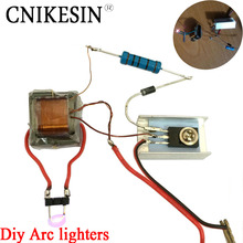 Buy CNIKESIN diy Inverter booster high voltage generator Arc lighters module electronic cigarette ignition coil suite for $2.70 in AliExpress store