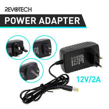 EU / US / UK / AU Plug Adapter DC 12V 2A CCTV Security Camera Power Supply Power Adapter(China)