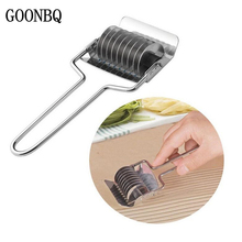 GOONBQ 1 pc Vegetable Chopper Stainless Steel DIY Noddles Slicer Garlic Coriander Cutter Multifunction Onion Slicer Tool