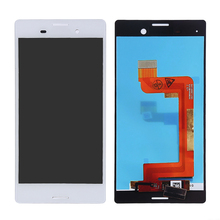 white Black For Sony Xperia M4 Aqua LCD Display With Touch Screen Digitizer full Assembly Replacement parts+free Tools
