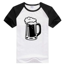 Tavern Glass Bar Pub Bartender Drink Alcohol short sleeve T-shirt Cool Print Tops tee funny GA160(China)