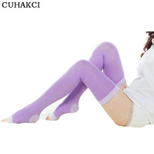 CUHAKCI 420D Compression Women High Stockings Legs Professional Anti Woman Stockings Sleeping Stocking Health(China)