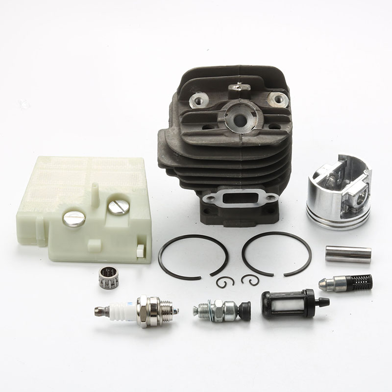 44mm Cylinder Piston Pin kits +Spark Plug + Air Fuel Filter For Stihl 026 MS260 260 Chainsaw # 1121 020 1208<br>