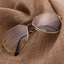 Aviator Clear Glasses Spectacle Frame Sunglasses Gold Eyewear Women Sunglasses Brand Designer Glasses Shades lunette