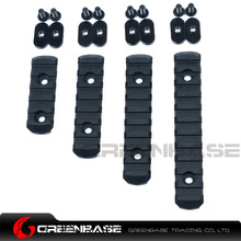 Greebase MP MOE Handguard Accessories Polymer Picatinny Rail Set Section For MOE Quad Rail L5 L4 L3 L2 Size Gun Accessories(China)