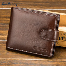 Hot!!!Vintage Men Genuine Leather Wallet Male Purse Cow Leather Short Zipper & Hasp Business Purse Pocket For Men Male MT100514