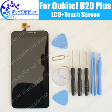 Oukitel U20 Plus LCD Display+Touch Screen 100% Original LCD Digitizer Glass Panel Replacement For Oukitel U20 Plus+tool+adhesive