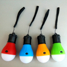 Outdoor Camping Tent Light Torch Flashlight Hanging Flat LED Lights 3 Mode Adjustable Lantern 3 AAA Battery ABS Texture