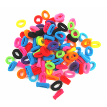 New 100 PCS Candy Color Little Girl Elastic Hair Bands Ring Rope Headwear Hair Styling Accessories Special Offer