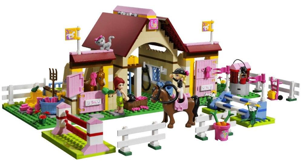 BELA Friends Series Heartlake Stables Building Blocks Classic For Girl Kids Model Toys  Marvel Compatible Legoe<br>