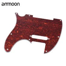 Guitar Pickguard Pick Guard 4Ply for Standard Modern Style Electric Guitar Tortoise Shell Red