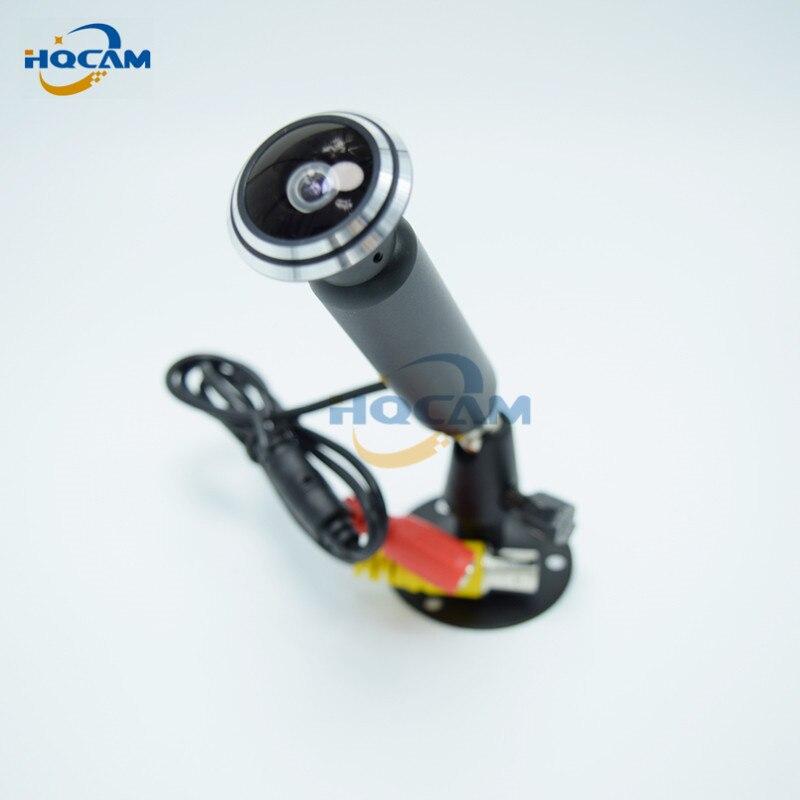 HQCAM EFFIO-E 700TVL Mini Bullet Camera Sony 1.78 mm fisheye wide-angle lens Mini CAMERA CCTV Camera Small Wired Bullet Camera<br>