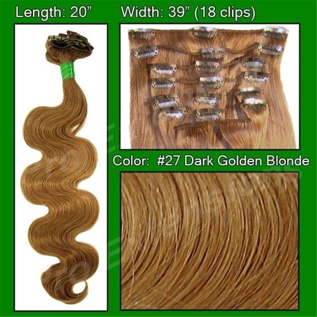 Brybelly Holdings PRBD-20-27 No. 27 Dark Golden Blond - 20 inch Body Wave