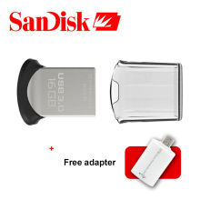 Original Sandisk Ultra FIT USB 3.0 Flash Drive Up To 130m/s Mini Pen Drive 64GB 32GB 16GB Support Official Verification