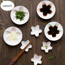 Lekoch 2pcs/lot Japanese Ceramic Sauce Dipped Plate White Pink Cherry Blossom Dinnerware Sushi Plates & Buy lot plate and get free shipping on AliExpress.com