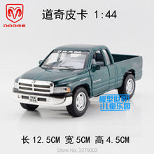KINSMART Die-Cast Metal Model/1:44 Scale/Dodge Ram Pickup Truck toy/Pull Back Car for children's gift or for collection