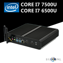 Eglobal Nuc Intel Core i7 7500U 6500U Fanless Mini PC Gaming PC Win10 Linux Intel HD Graphics 620/520 4K Ultra HD 300M Wifi(China)