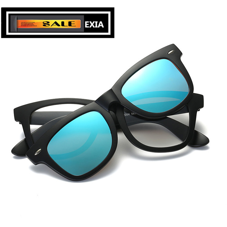 TR90 Frame Optical Glasses Men with Sunglasses Polarized Lenses Fashion Classic EXIA OPTICAL KD-2206 Series<br><br>Aliexpress