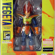 SHFiguarts Vegeta Original Animation Color Edition Dragon Ball Z Vegeta Action Figure 16cm