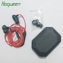 Hoqueen HIFI bass earphone HA-FR301 in-ear stereo headset for Apple Samsung blackberry Remote + Microphone Earphone(China)
