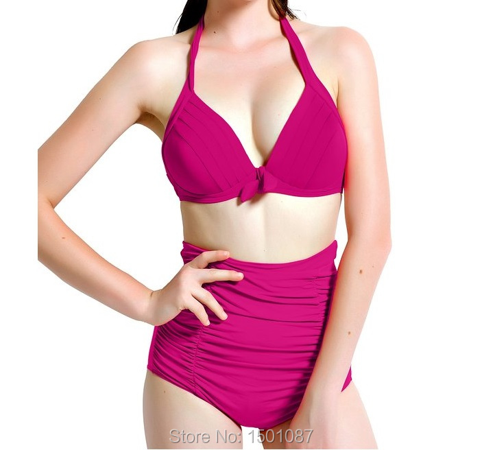 Summer New Women Sexy Bikinis Set High Waist Swimwear Bathing Suit  Two-Piece Push Up Swimsuit Bodysuit Leotard  Monokinis<br><br>Aliexpress