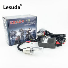 Motorbike headlight Spotlight bulb Xenon Ballast Motorcycle Headlight HID Kits Light 35W H6 6000K  Fog lamp