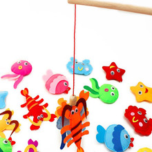 5 Designs Selection Adorable Animals Fishing Kids Early Learning Felt Fabric Children handmade Non-woven Decoration DIY Felt(China)