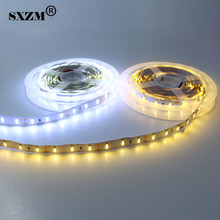 SXZM 7020 LED strip light DC12V Waterproof or Non-waterproof safe led tape lighting 5M/roll 300 leds Warm white/white
