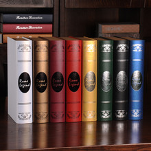 10pc Book European Rome simulation books  props photography Fake  soft    model bookcase decoration book wall dies wedding