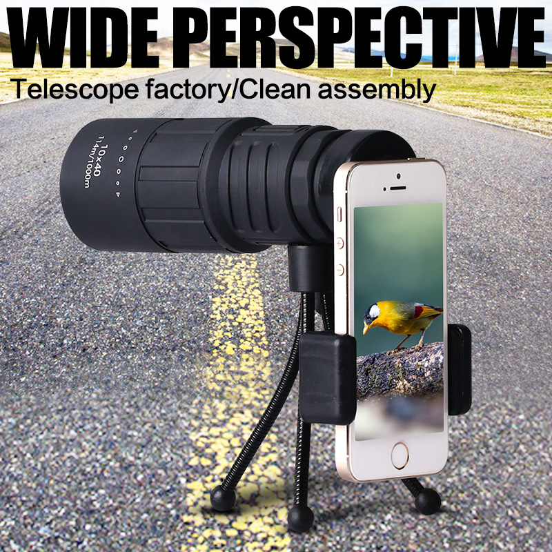 10X40 telescope being shunguang high times HD non ...