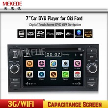 capacitive Screen wince6.0 Car Head Unit DVD For Focus Transit Mondeo Fiesta C-max Galaxy with GPS FM/AM Radio BT 1080p ipod