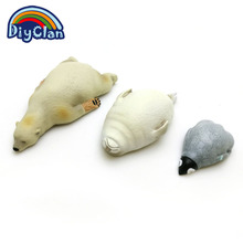 New Marine animal Sea lion / Penguin / polar bear fondant cake molds chocolate clay mould baking cake decoration tools