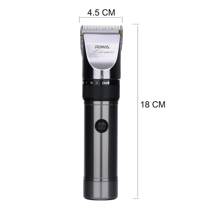 Lower Noise Professional Hair Trimmers Electric Hair Clipper Barbershop Hairdresser Haircut Machine+ 4 Limit combs + 1 Wai cloth<br>